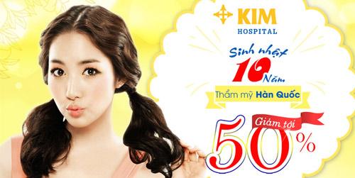 Bệnh viện thẩm mỹ Hàn Quốc KIM Hospital ưu đãi tới 50% - 1