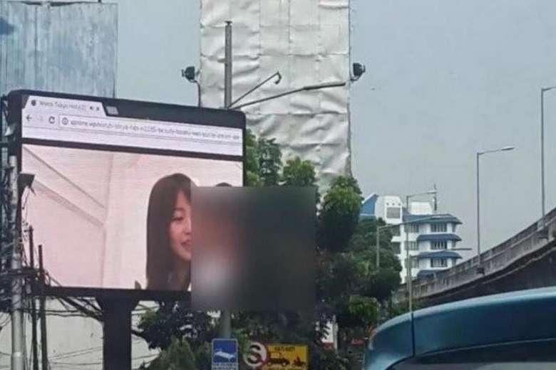 Indonesia: Biển quảng cáo hiện phim khiêu dâm hơn 10 phút - 1