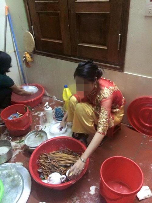 Dâu mới kinh hãi khi một mình rửa hết 11 mâm chén đĩa - 2