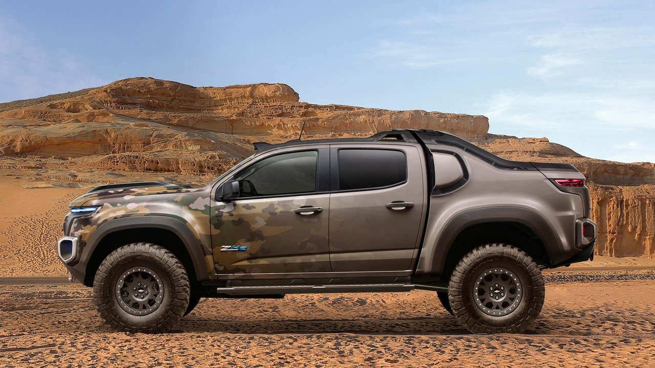 """Chevrolet Colorado ZH2 concept - Xe """"tàng hình"""" của Quân đội Mỹ - 2"""