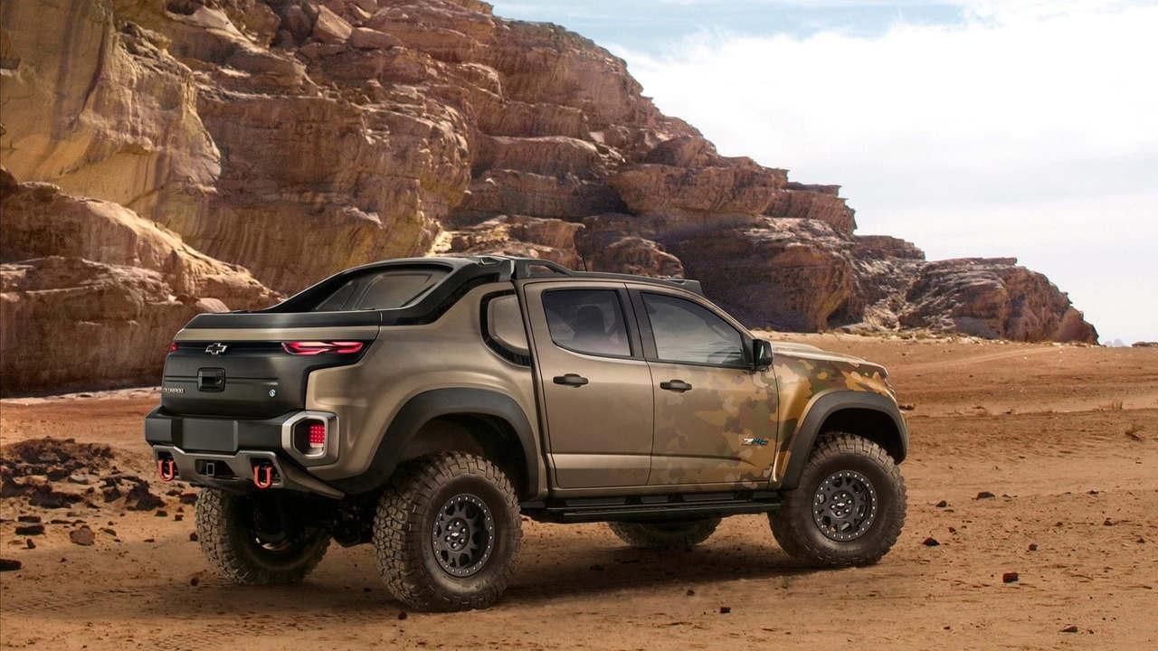 """Chevrolet Colorado ZH2 concept - Xe """"tàng hình"""" của Quân đội Mỹ - 3"""