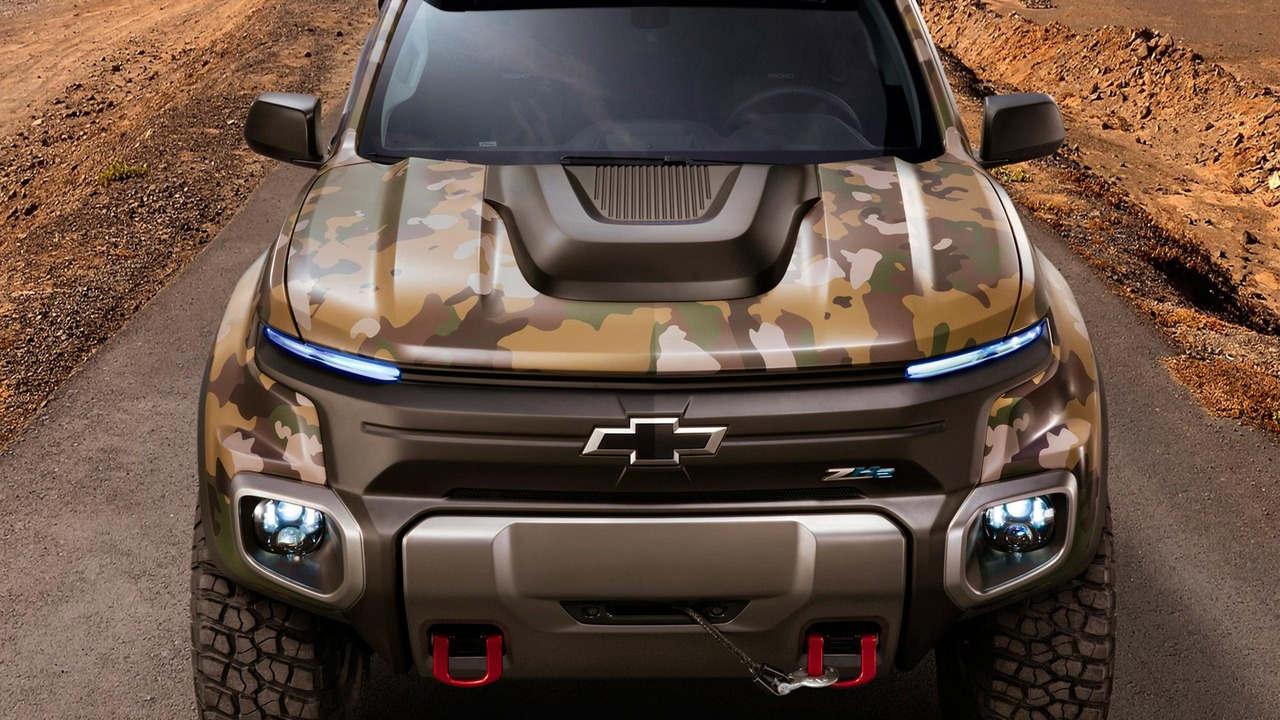 """Chevrolet Colorado ZH2 concept - Xe """"tàng hình"""" của Quân đội Mỹ - 4"""