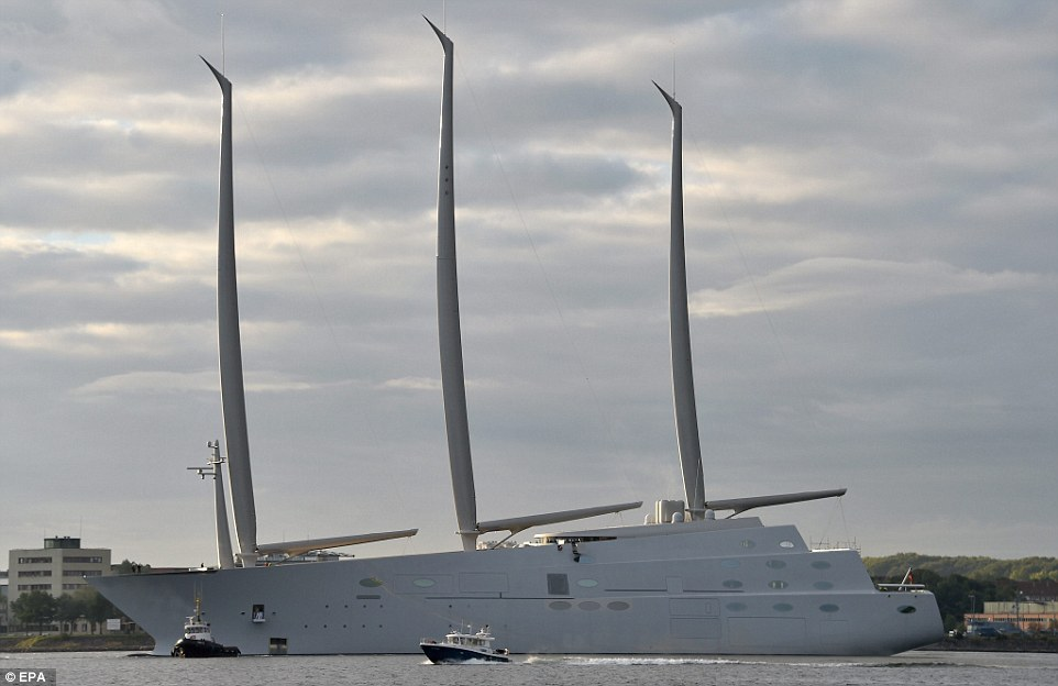 Xem siêu du thuyền 10 nghìn tỉ lớn nhất thế giới chạy thử - 2