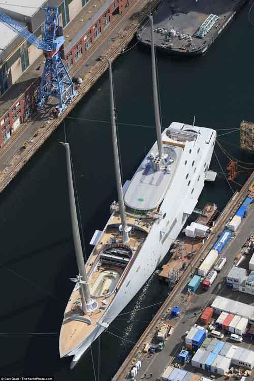 Xem siêu du thuyền 10 nghìn tỉ lớn nhất thế giới chạy thử - 4