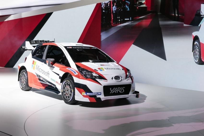 Toyota Yaris WRC 2017 tái suất sau 18 năm vắng bóng - 2