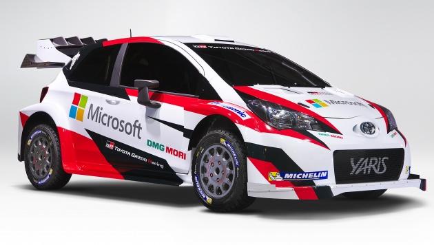 Toyota Yaris WRC 2017 tái suất sau 18 năm vắng bóng - 1