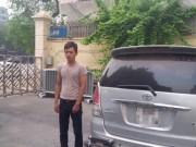 An ninh Xã hội - Ô tô ăn cắp hết xăng, trộm cắm giấy tờ đổi nhiên liệu