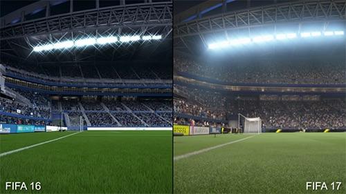 So sánh đồ họa FIFA 17 và 16: Thật hơn, có hồn hơn - 3