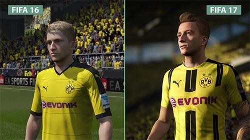 So sánh đồ họa FIFA 17 và 16: Thật hơn, có hồn hơn - 1