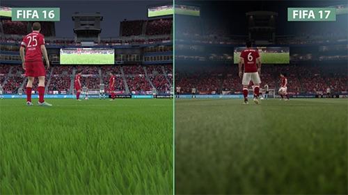 So sánh đồ họa FIFA 17 và 16: Thật hơn, có hồn hơn - 5