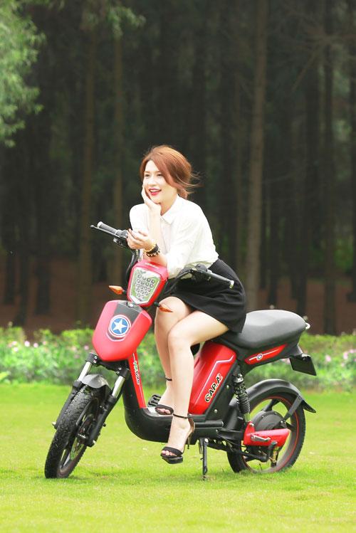 Xe đạp điện trang bị phanh đĩa chất như xe máy chạy xăng cao cấp - 1