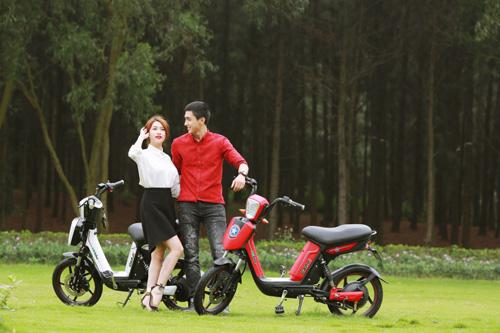 Xe đạp điện trang bị phanh đĩa chất như xe máy chạy xăng cao cấp - 2