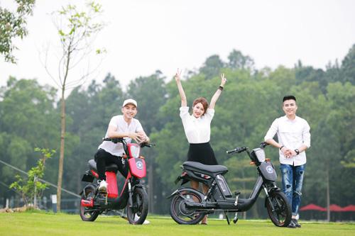 Xe đạp điện trang bị phanh đĩa chất như xe máy chạy xăng cao cấp - 4