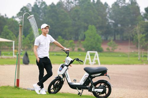 Xe đạp điện trang bị phanh đĩa chất như xe máy chạy xăng cao cấp - 6