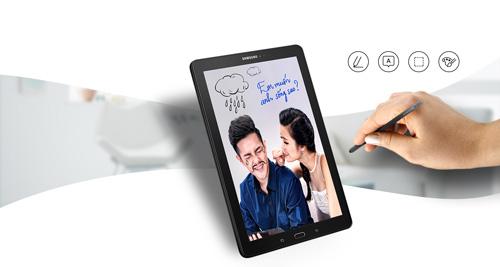 """Galaxy Tab A (2016) với bút S Pen - Điểm """"nóng"""" trên thị trường tablet nửa cuối 2016 - 2"""