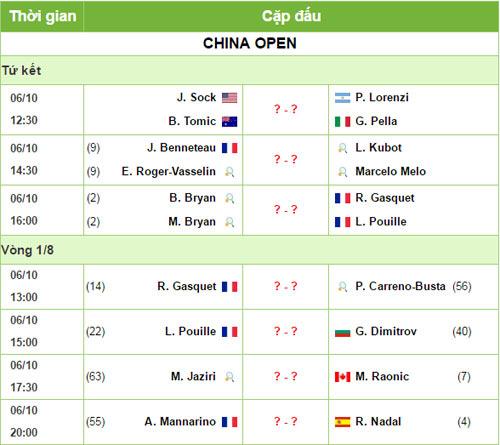 China Open ngày 4: Nadal tiếp đà hưng phấn - 4