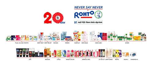 Rohto-Mentholatum (Việt Nam) - 20 năm chặng đường lịch sử - 2