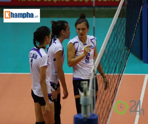 Hoa khôi Kim Huệ tái xuất VTV Cup: Chờ chị cả gánh đội - 1