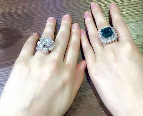 """""""Choáng"""" với nhẫn kim cương đắt đỏ của mỹ nhân Việt - 4"""