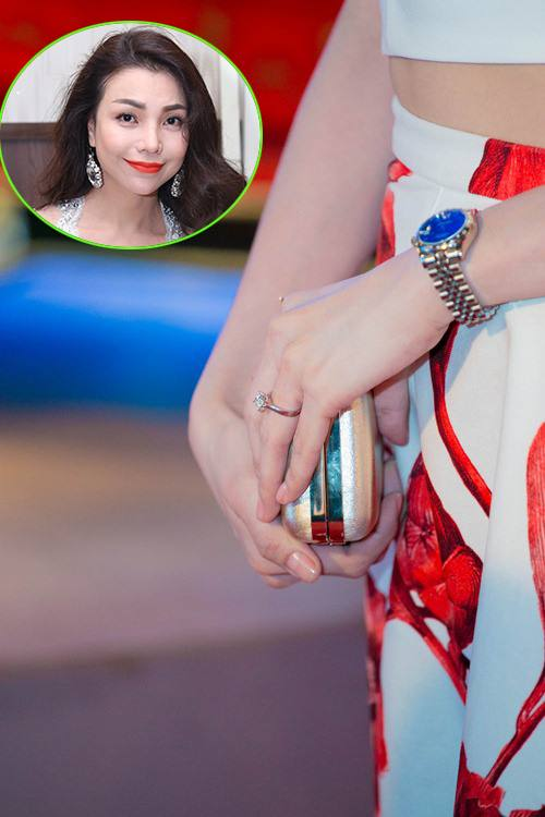 """""""Choáng"""" với nhẫn kim cương đắt đỏ của mỹ nhân Việt - 7"""
