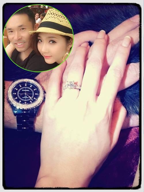 """""""Choáng"""" với nhẫn kim cương đắt đỏ của mỹ nhân Việt - 10"""