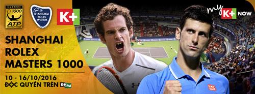 Novak Djokovic tìm số 8 may mắn tại ATP 1000 Thượng Hải Master 2016 - 3