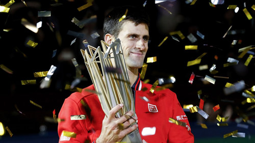 Novak Djokovic tìm số 8 may mắn tại ATP 1000 Thượng Hải Master 2016 - 1