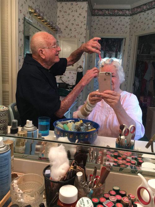 Học người già cách thể hiện tình yêu - 11