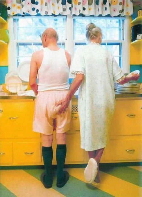 Học người già cách thể hiện tình yêu - 12