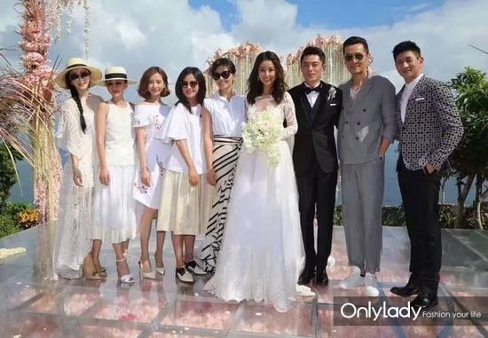 Những mẫu váy cưới đẹp như mơ của sao Hoa ngữ - 1