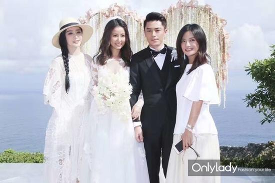 Những mẫu váy cưới đẹp như mơ của sao Hoa ngữ - 2