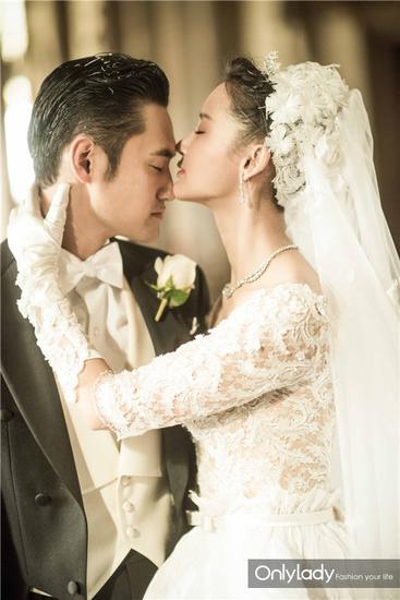 Những mẫu váy cưới đẹp như mơ của sao Hoa ngữ - 14