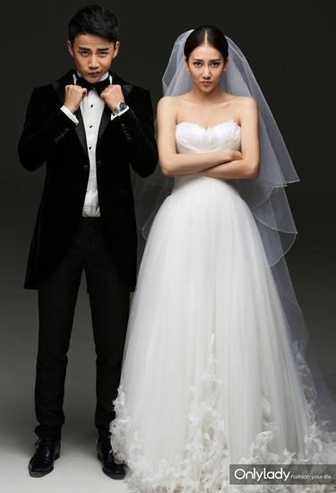 Những mẫu váy cưới đẹp như mơ của sao Hoa ngữ - 18