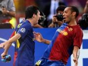 """Bóng đá - Thương hiệu dứt điểm đỉnh nhất: Henry, Messi, Rô """"béo"""""""