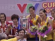 """Thể thao - Kí ức 4 chức vô địch của """"chân dài"""" bóng chuyền VN ở VTV Cup"""