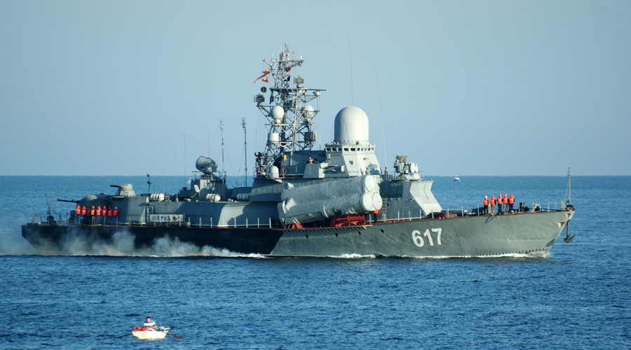 Nga điều thêm chiến hạm tới Syria để diệt IS - 1