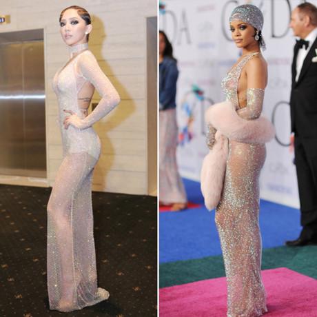 """Những """"phiên bản Rihanna"""" trong showbiz Việt - 8"""