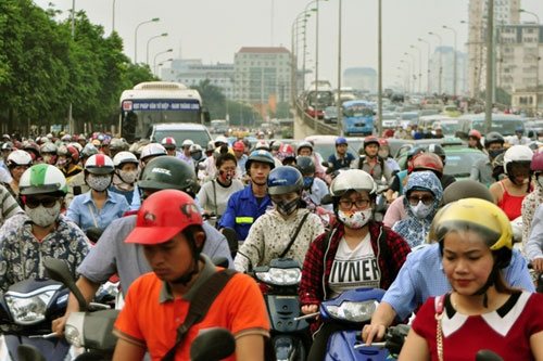 Không có chuyện HN ô nhiễm không khí thứ 2 thế giới - 1