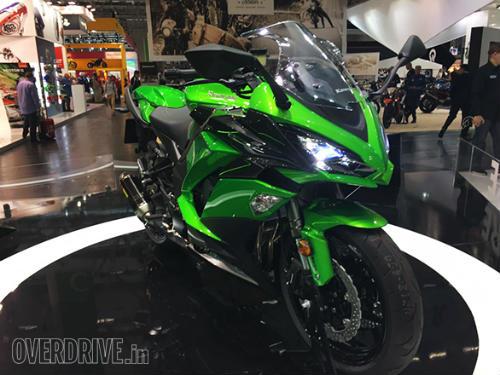 """Ngắm """"hàng khủng"""" 2017 Kawasaki Z1000SX tại Intermot 2016 - 2"""