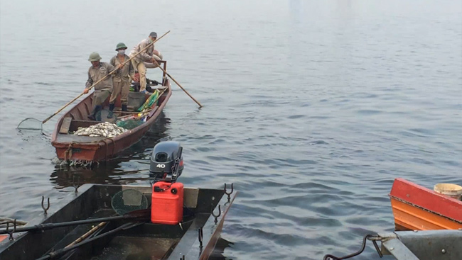 Vụ cá chết ở Hồ Tây: Vì sao phóng viên khó tiếp cận nơi chôn cá? - 1