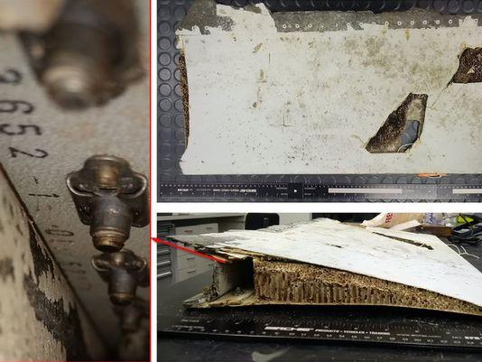 Mảnh vỡ mới nhất tìm thấy ở Ấn Độ Dương thuộc về MH370 - 1