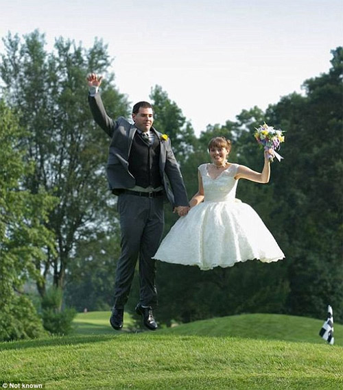Những bức ảnh cưới cười ra nước mắt - 1