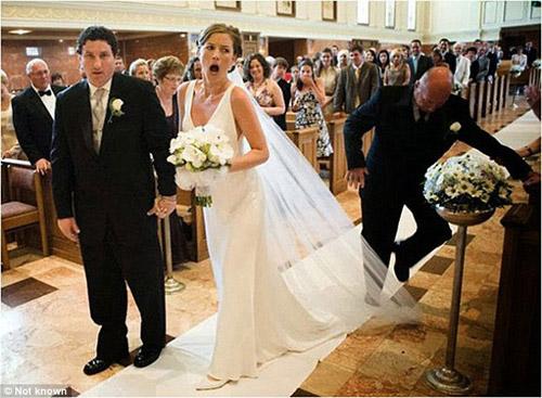 Những bức ảnh cưới cười ra nước mắt - 2