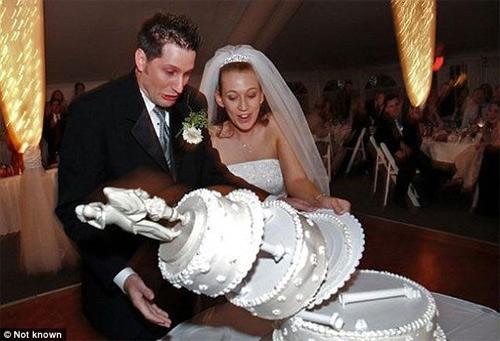Những bức ảnh cưới cười ra nước mắt - 7