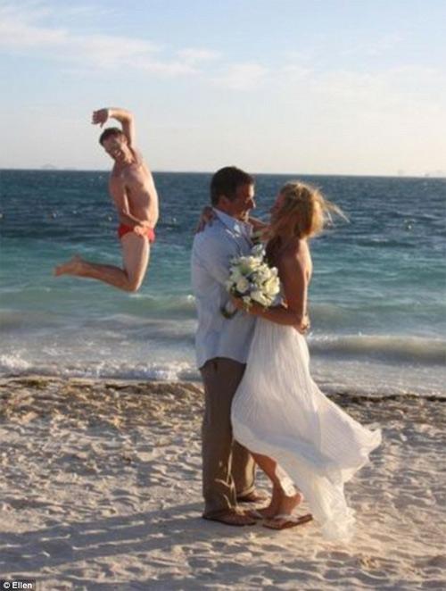 Những bức ảnh cưới cười ra nước mắt - 9
