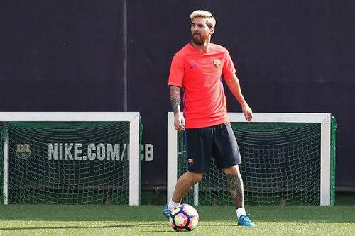 Mặc chấn thương, Messi điên cuồng tập luyện chờ gặp Pep - 1