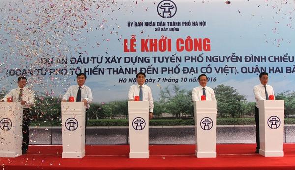 Hà Nội xây đường 600m, giá gần 200 tỷ - 1