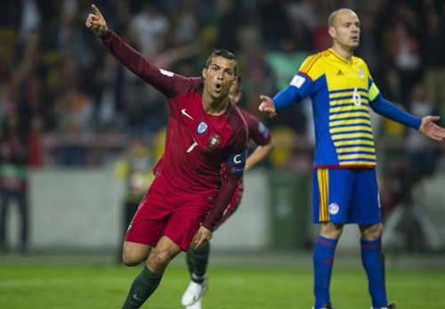 Bồ Đào Nha - Andorra: Cú poker của Ronaldo - 1