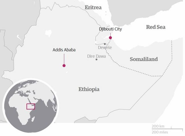 Trung Quốc xây đường tàu hỏa 750km đầu tiên ở châu Phi - 1