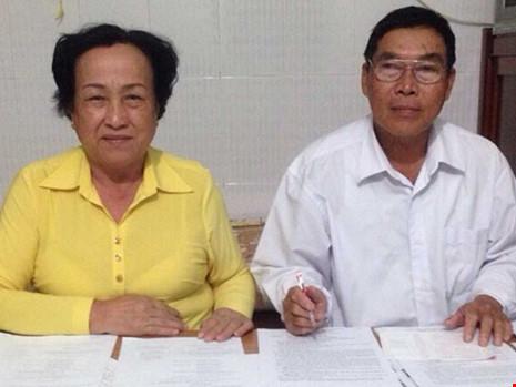 Hai vợ chồng bị oan và 13 năm đòi công lý - 1